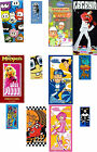 NEW CHILDRENS / KIDS CHARACTER THEMED 100% OFFICIAL BEACH TOWELS 19 FAB DESIGNS
