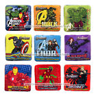 MARVEL AVENGERS Cotton MAGIC TOWEL Washcloth GROWS w/WATER  Square *YOU CHOOSE*
