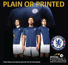 Chelsea Football Club T-Shirt  Plain or Personalised - Official CFC Merchandise
