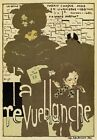AP88 Vintage 1896 La Revue Blanche French Advertisement Poster A1/A2/A3/A4
