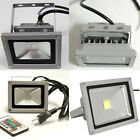 10W 20W 30W 50W 100W LED Flood light Outdoor Landscape Lamp Day Light RGB Color