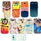 For Samsung Galaxy SIII S3 I9300 Hard Back Case Cover Butterfly Whale Basket