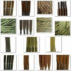 TZ Laces - Brown Waxed - Round, Cord, Flat, All Lengths, Boots, Shoes, Trainers
