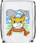 stampy cat  gym swimming school full color persanilised bag