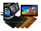 "Suede Leather Case+Screen Protector+Stylus for Samsung Galaxy Tab 10.1"" P7510"