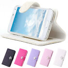K5M Luxury Wallet Flip PU Leather Cover Stand Case For Samsung Galaxy S5 G900F