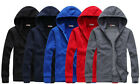 New Hot Men's Leisure Fashion Hooded Cardigan Sweater Jackets Coats UK LO