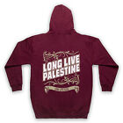 LONG LIVE PALESTINE LONG LIVE GAZA ANTI WAR PROTEST ADULTS FULL ZIP HOODIE