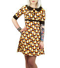 NEW RETRO INDIE SIXTIES GEOMETRIC CIRCLE 60s 70s MOD DRESS Carnaby Vintage MC172