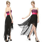 Lovely Asymmetric Short Cocktail Party Beach Prom Dress 06132 Size 6 8 10 12 14