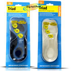 Profoot Triad Knee Arch Heel Ball Of Foot Comfort Insoles Leg Back Pain Relief