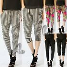 Casual Baggy Harem Hippie Yoga Beach Pants Shorts 2 in 1 Style AU SELLER P134