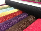 Heavyweight Quality Printed Chenille Velvet Curtain Fabric Jacquard Upholstery