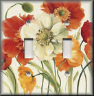 Switch Plates And Outlets - Colorful Poppy Flowers - Floral Home Decor - Poppies