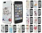 BONAMART Soft Silicone TPU Gel Painting Bumper Case Cover Skin for iPhone 5 5s