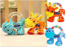 Cute Baby Infant Soft Hand Rattles Beads Animal Kids Plush Toys Doll Educational