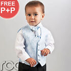Baby Boys Pageboy Outfits Black Blue Suit Age 0m-12yr