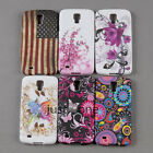 Cute Butterfly/ Flowers Back Case Cover for Samsung Galaxy S4 Active i537 i9295