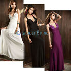WOMENS EVENING COCKTAIL FORMAL GOWN SIZE 8 Ladies Wedding PARTY OPEN BACK GEMS