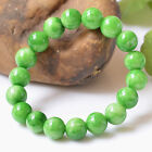 China Natural Hanyu Cool Jade 10-16MM Gemstone Bracelet with Gem Certificate