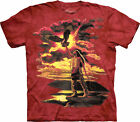 Native American Indian themed T-shirt 100% Cotton Gift of the Eagle Feather New