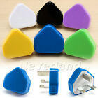 USB 3 PIN UK WALL MAINS PLUG CHARGER FOR iPhone 4s 4 4G Samsung 7 Colors