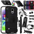 Accessories+Shockproof Belt Clip Holster Case Cover For SAMSUNG GALAXY S5 i9600