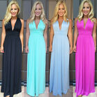 NEW LADIES WOMENS SUMMER LONG MAXI DRESS SKIRT SIZE 6-18 BODYCON EVENING PARTY