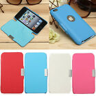 Slim PU Leather Flip Magnetic Hard Case Cover Skin For Apple iPod touch 4 NEW