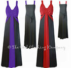 WOMENS EVENING WEAR LONG MAXI DRESS STRETCHY (EVE) PARTY CRUISE SIZE 20 to 26 .