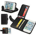 Flip ID Card Wallet Purse Leather Case Cover For Samsung Galaxy iPhone LG Nexus5