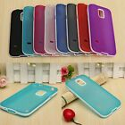 Hybrid Hard PC Bumper+Matte TPU Back Case Cover For Samsung Galaxy S5 Mini G800