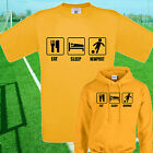 EAT, SLEEP, NEWPORT FOOTBALL T SHIRT / HOODIE - KIDS ADULTS  TOP