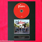 THE VAMPS Dvd Edition Signed DVD Cover Repro MOUNTED A4 Autograph Print (57)