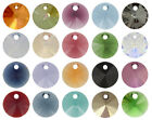 Genuine SWAROVSKI 6428 Rivoli Pendants - All Sizes & All Colours