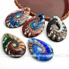 1PC Chic Vintage Colorful Lampwork Glass Teardrop Pendant Beads DIY Gift Jewelry