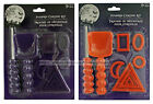 9pc PUMPKIN CARVING KIT Great For Kids HALLOWEEN Spoon+Shapes+Knife *YOU CHOOSE*