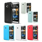 Ultra Slim & Flexible TPU Protective Gel Case Cover Skin for HTC One M7 (2013)