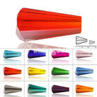 HOT SELL 72Pcs 8mm Crystal Conical Tower Beads DIY Jewelry Making Fit Bracelet