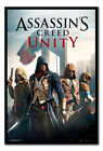 Framed Assassins Creed Unity Cover Poster New