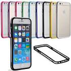 "For Apple iPhone 6 4.7"" Bumper Slim Transparent Clear TPU Case Cover"