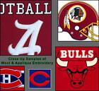"Choose Your NFL Football Team 32"" x 13"" Embroidered Wool & Pigskin Pennant Flag"