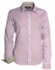 Toggi Ladies Dudley Striped Casual Shirt. Cotton with Stretch