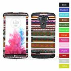 For LG G3 Native Tribal Design Hybrid Hard&Rubber Impact Rugged Phone Case Cover