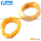 28mm Colorful Natural Shell MOP Beads Fashion Jewelry Bracelet 7' Free Shipping