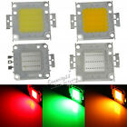 1X 30Mil 30W Cool/Warm White Red Green Blue RGB SMD LED Chip For Flood Light DIY