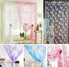 Butterfly Tassel String Door Curtain Window Room Vestibule Curtain Divider Decor