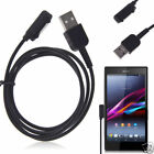 Magnetic Power Charger USB Charging Cable Lead Cord For Sony Xperia