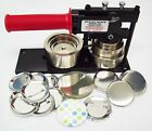 "2-1/4 2.25"" STD Tecre Button Maker Machine with 100 or 250 Pin Back Button Parts"