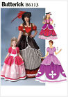 Butterick 6113 Sewing Pattern to MAKE Pirate, Princess or Pantomime Costumes